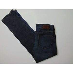 NEW Madewell 28 x 32 Straight Blue Jeans Stretch